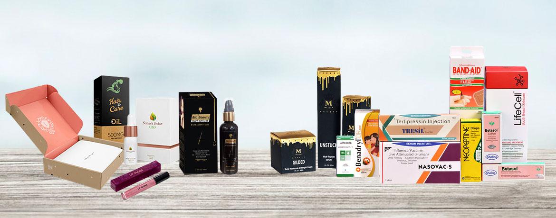 cosmetic packaging - the custom packaging UK